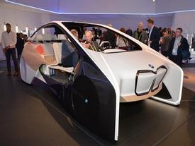 Xe BMW thông minh điều khiển bằng cử chỉ