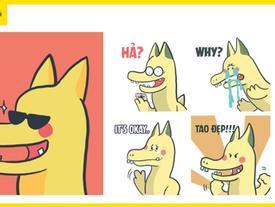 Rồng Pikachu đã xuất hiện trên Messenger, dùng để chém gió thì còn gì bằng