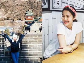 FB 24h: Ngọc Trinh thăm Vạn Lý Trường Thành - Hà Tăng vẫn quyết giấu bụng bầu