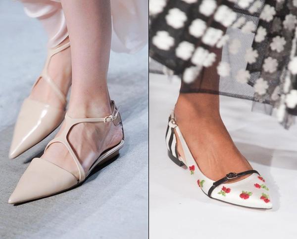 Giày bệt mũi nhọn: theo chân quý cô từ công sở tới tiệc tùng - Ảnh 13.