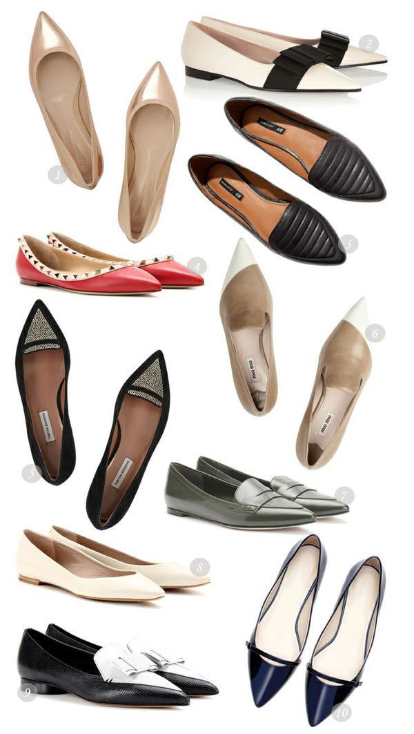 Giày bệt mũi nhọn: theo chân quý cô từ công sở tới tiệc tùng - Ảnh 1.