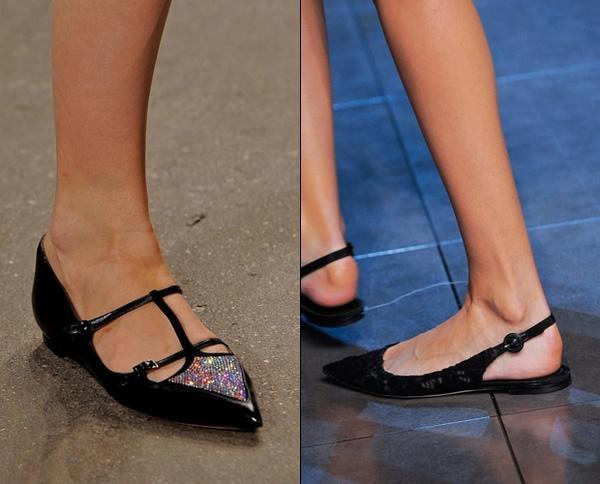Giày bệt mũi nhọn: theo chân quý cô từ công sở tới tiệc tùng - Ảnh 6.