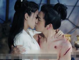 Fan 'sốc' khi nhìn xuống phía dưới cảnh nóng của Chung Hán Lương và Angela Baby