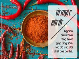 7 siêu thực phẩm đốt cháy mỡ thừa nhất định không thể bỏ qua