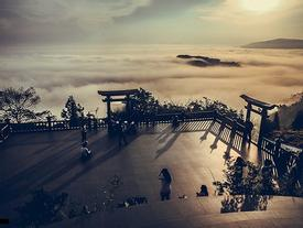 Ngôi chùa trên mây đẹp khó tin ở Tây Nguyên