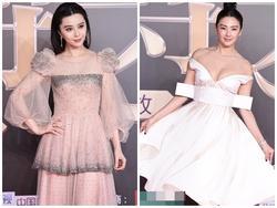 Chẳng cần khoe ngực, Phạm Băng Băng vẫn đẹp lấn át 'bản sao' của Song Hye Kyo