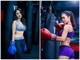 Ngắm nữ nhân viên ngân hàng nóng bỏng trong bộ ảnh boxing
