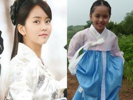 Kim So Hyun ra dáng 'nữ thần cổ trang' từ thời bé tí