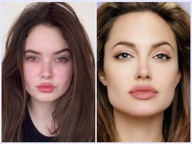 """Nhan sắc xinh đẹp của cô nàng 15 tuổi được ví như """"bản sao"""" Angelina Jolie"""
