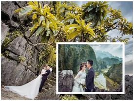 Hang Múa điểm chụp ảnh cưới thơ mộng tại Ninh Bình