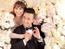 Clip: Trấn Thành cùng các nghệ sĩ nói những lời thương yêu Hari Won hết mực hậu đám cưới