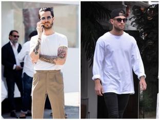 """4 kiểu áo thun trắng """"kinh điển"""" cần có trong tủ đồ"""