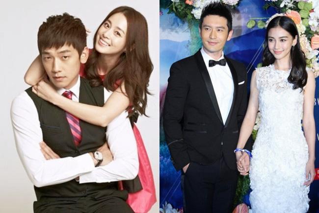Hôn lễ của Angela Baby và Kim Tae Hee: Cùng giàu có bậc nhất showbiz nhưng đám cưới lại khác một trời một vực - Ảnh 1.