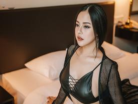 """Ngắm """"DJ bốc lửa nhất Hà thành"""" trước giờ chạy show Tết"""