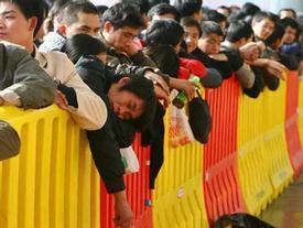 """Cuộc """"đại di cư"""" về quê ăn Tết từ lâu đã trở thành một nét văn hoá của người Trung Quốc"""