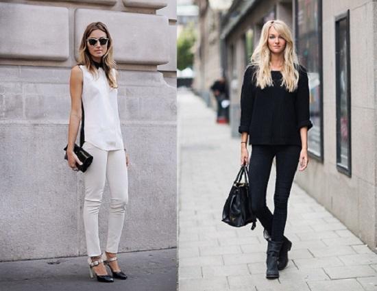 Kết quả hình ảnh cho kiêng mặc quần áo màu trắng đen