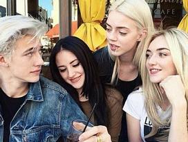 Chiêm ngưỡng nhan săc đẹp hoàn hảo của gia đình người mẫu Smith