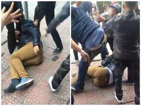 Cậy cốp SH trộm đồ tại siêu thị ở Hải Phòng, nam thanh niên bị đánh đập dã man