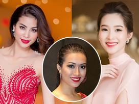 Phạm Hương, Đặng Thu Thảo kêu gọi bình chọn cho Lệ Hằng tại Miss Universe 2016