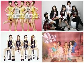 Những thành tích rực rỡ trong 10 năm của Wonder Girls