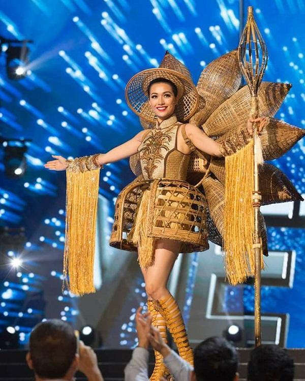 Quốc phục của Lệ Hằng xuất sắc xếp hạng 4 tại Miss Universe 2016 - Ảnh 1
