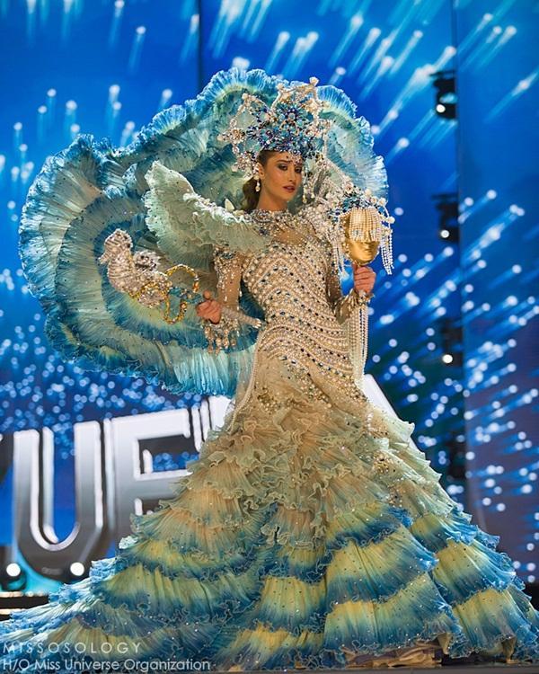 Quốc phục của Lệ Hằng xuất sắc xếp hạng 4 tại Miss Universe 2016 - Ảnh 3