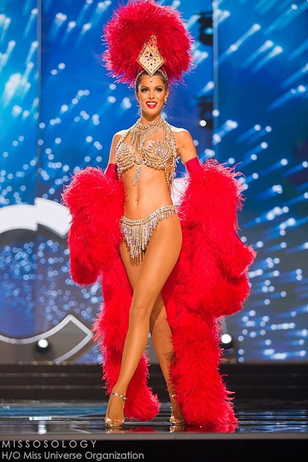 Quốc phục của Lệ Hằng xuất sắc xếp hạng 4 tại Miss Universe 2016 - Ảnh 6