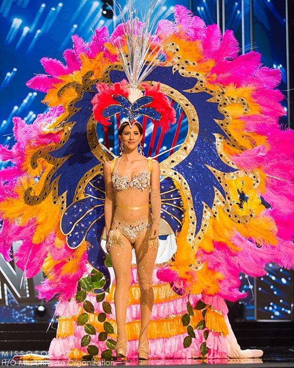 Quốc phục của Lệ Hằng xuất sắc xếp hạng 4 tại Miss Universe 2016 - Ảnh 9