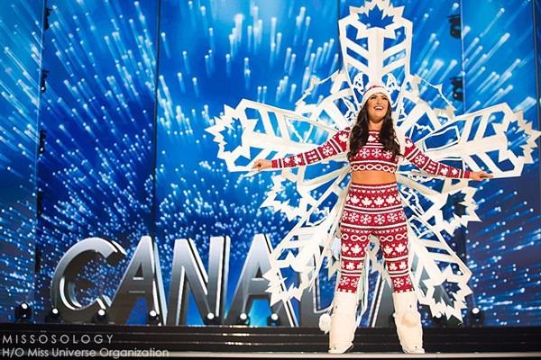 Quốc phục của Lệ Hằng xuất sắc xếp hạng 4 tại Miss Universe 2016 - Ảnh 10