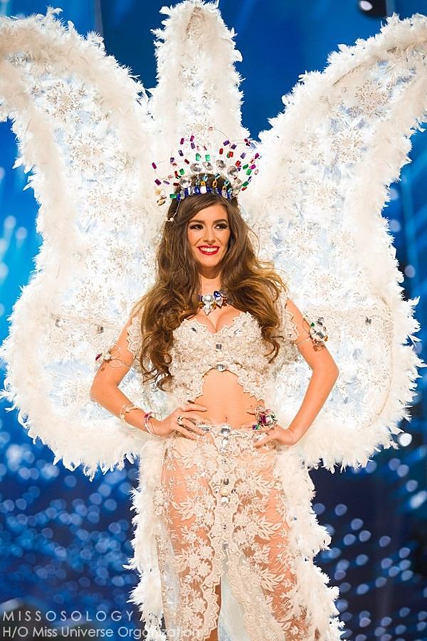 Quốc phục của Lệ Hằng xuất sắc xếp hạng 4 tại Miss Universe 2016 - Ảnh 13