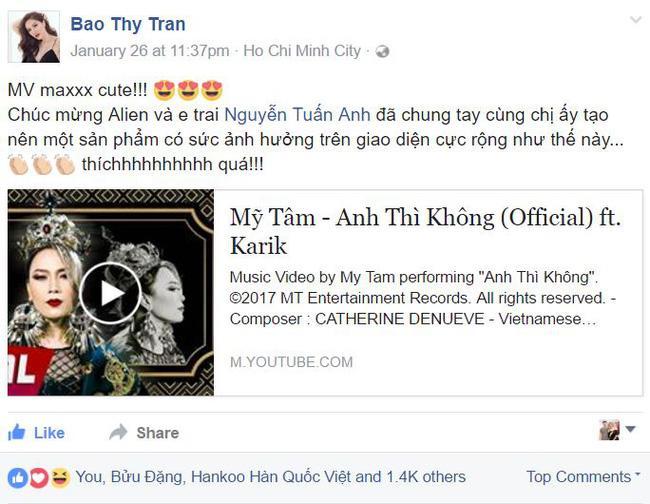 Không chỉ khán giả, nhiều sao Việt cũng đứng ngồi không yên trước MV hài hước của Mỹ Tâm-5