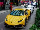 Cường Đô La và các đại gia Sài Gòn chơi Tết bằng Lamborghini