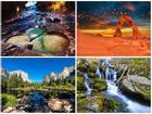 Vẻ đẹp hùng vĩ của các công viên quốc gia Mỹ