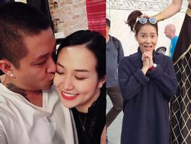 FB 24h: Tuấn Hưng hôn vợ say đắm, Thu Minh bị túm tóc ở trời tây...