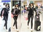 Sau nghỉ Tết, Dương Mịch sành điệu ở sân bay