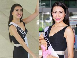 Lệ Hằng tươi như hoa về nước sau hành trình dài ngày tại cuộc thi Hoa hậu hoàn vũ