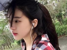 Bị chụp lén, nữ sinh Trung Quốc gây sốt vì quá xinh đẹp