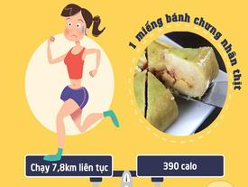Bạn có biết mình phải chạy bộ bao xa thì mới xử lý hết số calo đã nạp để lấy lại vóc dáng?