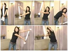 Ăn Tết xong béo lên thì hãy nhớ bài tập chiếc khăn này để lấy lại bụng phẳng nhé!