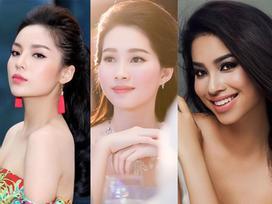3 hoa hậu Việt sở hữu góc mặt 3/4 đẹp