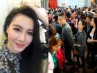 FB 24h: Tuấn Hưng che chắn vợ bầu giữa đoàn người đi lễ - Minh Hà quyết giảm 5kg sau tết