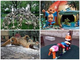 Những thiết kế lạ lùng và đáng sợ dành cho trẻ em