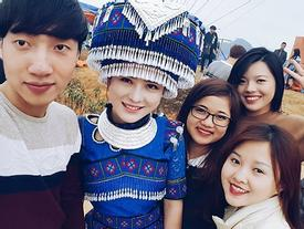 Cư dân mạng 'truy lùng' cô gái H'Mông xinh đẹp ở lễ hội vùng cao