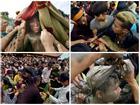 Hàng trăm thanh niên giẫm đạp, cướp chiếu mong sinh con trai