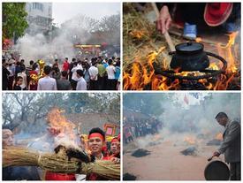 Cay xè mắt tại lễ hội nhiều khói nhất Việt Nam