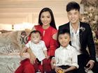 Ưng Hoàng Phúc hạnh phúc bên vợ, con chung và con riêng