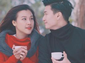 Huỳnh Anh, Hoàng Oanh lại khiến fan 'đỏ mắt ghen tị' với khoảnh khắc tình yêu lãng mạn