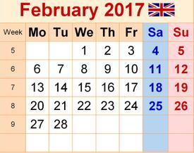 Tháng 2 năm 2017 là tháng đặc biệt nhất trong hơn 820 năm qua