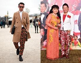 Những hình ảnh chứng minh tỷ phú Hoàng Kiều mặc quần hoa 'không hề lạc lối'