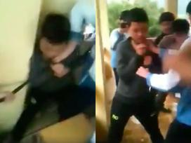 Nam sinh bị nhóm bạn buộc dây vào cổ, lôi đi dọc hành lang lớp học khiến nhiều người phẫn nộ